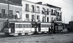 Tranvía de vapor, Ciudad Lineal