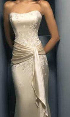 Brides: Demetrios - Destination Romance : Style No. Used Wedding Dresses, Bridal Dresses, Wedding Gowns, Bridesmaid Dresses, Prom Dresses, Formal Dresses, Satin Dresses, Ball Dresses, Lace Dress