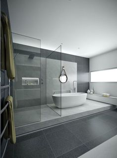 Modern bathtub inspiration bycocoon.com | bathware | inox stainless steel bathroom taps | bathroom design | renovations | interior design | villa design | hotel design | Dutch Designer Brand COCOON