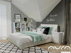 pokój dla nastolatki My Room, Girl Room, White Bedroom, Dream Rooms, Interior Design Living Room, Living Spaces, Ikea, Sweet Home, Room Decor