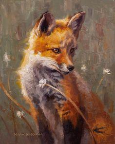 Bachelor Of Fine Arts, Fox Art, Pencil Portrait, Art Studies, Teaching Art, Animal Paintings, Beautiful Paintings, Great Artists, Fine Art Prints