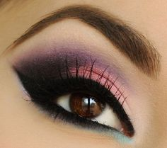 Pink And Purple ...  I need to find these colors so I can try it