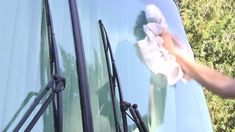 Super Clean Your Windshield... Super Fast!---**Using 0000 Steel Wool and Rain Repellent Invisible Glass cleaner!!!
