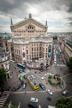 Palais Garnier, opera house in Paris. I want to go.i didn't make it there the first time I went to Paris. Places Around The World, The Places Youll Go, Places To See, Around The Worlds, Paris 3, Paris City, Paris Travel, France Travel, Wonderful Places