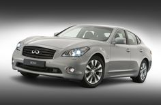 Infiniti M35H luxury electric car picture 2014 Silver