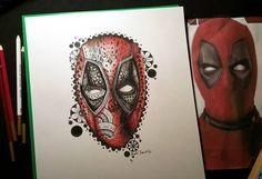 Were getting there! #deadpool #deadpoolart #badass #mercinary #zentangle #zendoodle #doodleartist #drawing #artist #instaart #instaartist #art_spotlight #artistworld #arts_help #sharedart #chantelbenedictartwork #zendoodle #tanglersofinstagram #linework #tribal #art_collective_mag #thinkspace #art_sanity #shaded_canvas #discoverytalent #arts_worldly #progress #drawing #linework #microns #tribal #talentedpeopleinc #featuregalaxy by c_benedict_97