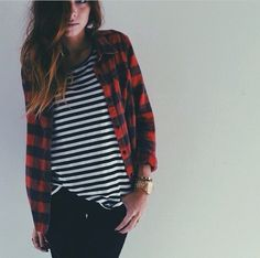 Obsessed. Too many flannels to count..