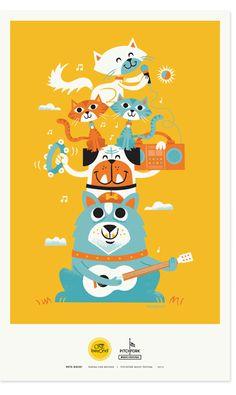 Pets Rock Posters   Zeus Jones