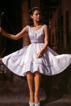 Natalie Wood in 'West Side Story', 1961.