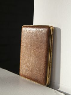Your place to buy and sell all things handmade Leather Cigarette Case, Credit Cards, King Size, Brown Leather, Pocket, Purses, Trending Outfits, Business, Unique Jewelry