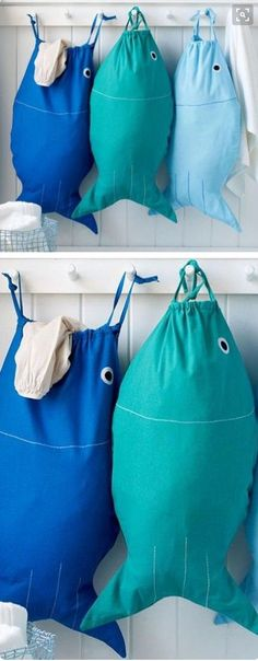 bait and hook laundry bag