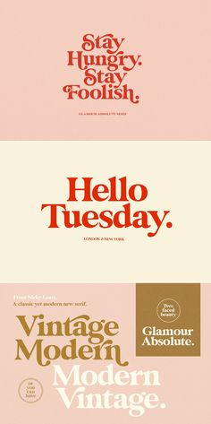 BOLD Retro Serif Font - If you are going Vintage Retro : Access your OpenType features to access the large selection of alt - Typography Letters, Typography Design, Branding Design, Type Design, Print Design, Letras Cool, Feeds Instagram, Typographie Inspiration, Vintage Fonts