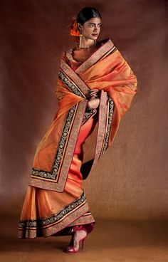 Saree by:Tarun Tahiliani