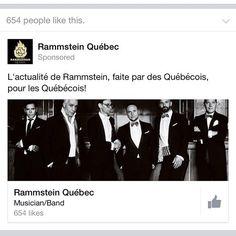 Only in #Quebec. #rammstein