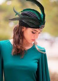 Resultado de imagen de turbantes para bodas