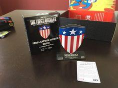 "Loot Crate's ""ORIGINS"" Box Review For January 2017 Captain America Shield, Geek Culture, Origins, Giveaways, Crates, January, Nerd, Geek Stuff, Comic Books"