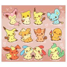 """Gefällt 1,616 Mal, 14 Kommentare - Pokemon (@chikaveh) auf Instagram: """"Mimikyu is so precious """""""