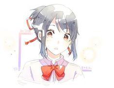 Kimi No Na Wa, Anime Poses, Kawaii, Anime Shows, Illustration, Nerd, Geek Stuff, Artsy, Animation