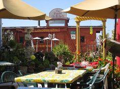 Haute Enchilada - Outdoor seating area - Picture of Haute Enchilada, Moss Landing - Tripadvisor Moss Landing, Outdoor Seating Areas, Enchiladas, Trip Advisor, California, Patio, Spaces, Photo And Video, Garden