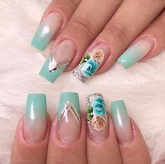 😍😍😍👑@casadasunhas_es @merlin_fernandes @sueline_adesivos_artesanais #nails #nailsart #unhasdegel #nailsgel #nailsg #nailsgram #nailsgirly… Gel Nails, Acrylic Nails, Nail Polish, Hawaiian Flower Nails, Ambre Nails, Hand Art, Nail Stickers, Gorgeous Nails, Acrylic Nail Designs