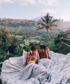 Dream setup - Bali - couple in bed - Travel Travel Couple Quotes, Couple Travel, Travel Quotes, Vacation Quotes, Family Travel, Voyage Bali, Destination Voyage, Camping Am Meer, Bali Indonesia