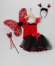 a6776b5df Just Pretend Kids Red   Black Ladybug Tutu Dress-Up Set - Toddler   Girls  by Just Pretend Kids