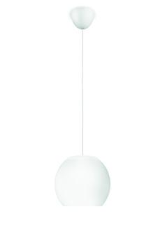 VIENNE - lampa wisząca Philips myLiving Vienne LED w mlecznym kolorze tworzy piękny, nowoczesny nastrój w każdym domu. Satynowe szkło stanowi doskonałe dopełnienie okrągłego kształtu i pięknego, ciepłego światła. Wysokość: 23,5  cm - 150  cm, długość: 20  cm, szerokość: 20  cm #Philips #Lighting#oświetlenie #Philips Showroom