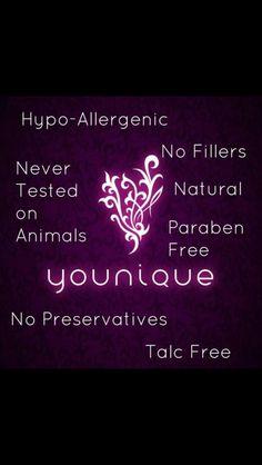 100% natural younique