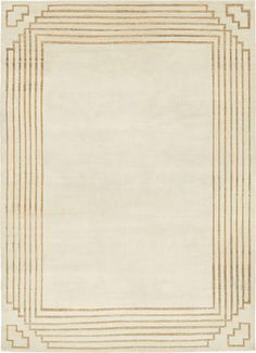 Custom rug by F.H. Hakimian -perfect for a dining room