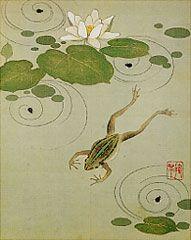 Frog. Sakai Hoitsu? 静嘉堂文庫美術館. Shizhodo Bunko Museum