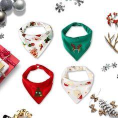 Christmas baby shower gift Christmas cute bibs Christmas baby bibs drool bib Snowman bib FREE Baby washcloth Funny bibs Newborn gift