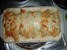 Spinach and Chicken Stuffed Manicotti - From Mess Hall to Bistro: Made From Scratch Tuesday 5/24