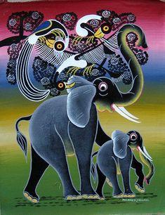 Итак, слоны... Говоря о них, конечно, первым делом на ум приходит Африка! Самый жаркий континент со знаменитыми саваннами, водопадом Виктория, великими пирамидами на плато Гиза, африканскими племенами, плетущими затейливые украшения из бисера в технике ндебеле или покрывающими свою тело множественными татуировками... Но не только благодаря этим людям и достопримечательностям известен этот материк!…