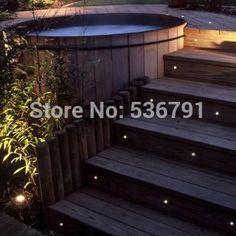 (18 Pieces/lot) 24MM Super Small Led Deck Light IP67 12V Low Voltage