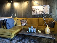 Hytte på Beitostølen - Vyrk Decor, Furniture, Cabin, Home Decor, Couch