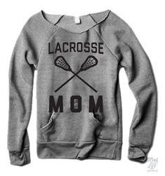 Lacrosse Mom Sweater