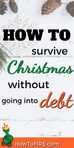 How To Avoid Debt During the Holidays! Many people have trouble avoiding overspending during the holidays. However, it is essential that you plan accordingly to avoid debt. Here are the ways that you can prevent derailing your financial goals. I Need Money Now, Make Money Today, Thing 1, Money Quotes, Financial Goals, Debt Free, Money Management, Money Saving Tips, How To Plan
