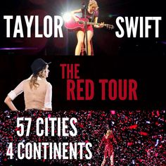The red tour started one year ago today *Aug 19 * Swift Tour, Swift 3, Live Taylor, Taylor Alison Swift, Love You So Much, Love Her, One Year Ago, Red Tour, 24 Years Old