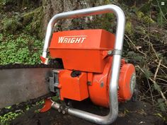 Power Saw, Logging Equipment, Small Engine, Chainsaw, Motor, Tractors, Trees, Antiques, Outdoor Decor