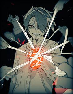 The promised neverland 約束のネバーランド yakusoku no neverland manga Sad Anime, I Love Anime, Manga Anime, Anime Art, Anime Triste, Fanarts Anime, Anime Characters, Dark Art Illustrations, Arte Obscura