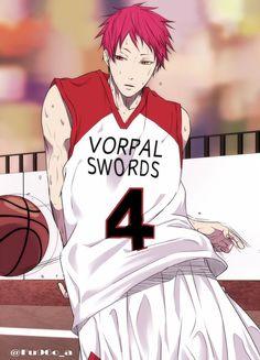 Akashi Seijūrō 赤司 征十郎   Rakuzan Kōkō   Kuroko no Basket   あと数時間……エルボーパス描こうと思ったけどエルボーパスにならなかった赤司