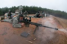 Devil paratroopers train to become snipers on Fort Bragg's ranges.
