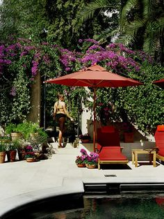 Pool & Garden | Palazzo Margherita - Francis Ford Coppola Luxury Hotel in Bernalda Italy