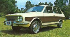 Ford Belina com aplique imitando madeira, um luxo bem ao estilo americano