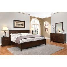 ABBYSON LIVING Hamptons 5-piece Queen-size Platform Bedroom Set   Overstock.com Shopping - The Best Deals on Bedroom Sets