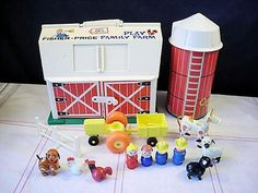 Fisher Price Little People Barn. The one my daughter has is just not the same. (She loves it though.)