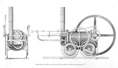 File:Trevithick's Coalbrookdale locomotive, 1803 (British Railway Locomotives 1803-1853).jpg