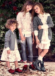 ALALOSHA: VOGUE ENFANTS: Dreamy and magical world of TWIN-SET AW'15 collection