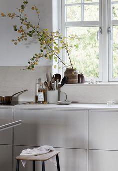 Home Remodel Additions Autumn mood in my new kitchen Luxury Kitchen Design, Best Kitchen Designs, Luxury Kitchens, Interior Design Kitchen, Cool Kitchens, Minimal Kitchen Design, Living Room Kitchen, New Kitchen, Kitchen Decor