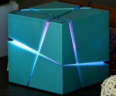 Treat your eyes and ears to a wonderful show next time feel like listening to some tunes from this LED Bluetooth cube speaker. Compatible with both Android and Apple products, it delivers high-fidelity sound while the internal LED pulses in vibrant colors to the beat.